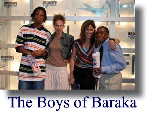 boys of baraka The baraka school was designed for this reason and gives the boys a stable routine that will change their lives completely and ultimately prepare them for the real world the film shows how much richard and his brother, devon, and montrey's families need the baraka school to give.